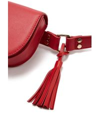 Forever 21 - Red Faux Leather Waist Bag - Lyst