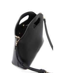 Forever 21 - Black Faux Leather Structured Handbag - Lyst