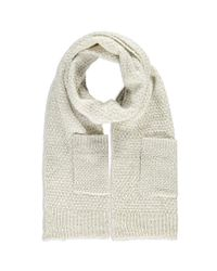 Forever 21 - Natural Patch Pocket Scarf - Lyst