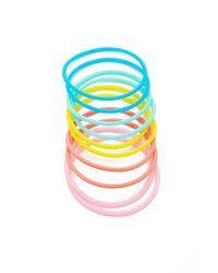 Forever 21 - Blue Jelly Bracelet Set - Lyst