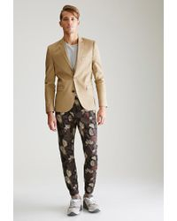 Forever 21 - Black Palm Camo Chino Joggers for Men - Lyst