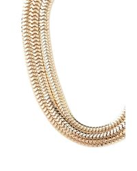 Forever 21 - Metallic Flat Chain Layered Necklace - Lyst