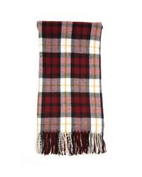 Forever 21 - Red Plaid Flannel Oblong Scarf - Lyst