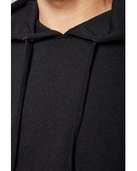 Forever 21 - Black Colorblock Heathered Hoodie for Men - Lyst