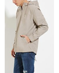 Forever 21 | Brown Zipped Utility Jacket for Men | Lyst