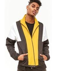 Forever 21 - Multicolor Colorblocked Track Jacket for Men - Lyst