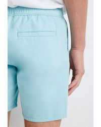 Forever 21   Blue Drawstring Chino Shorts for Men   Lyst