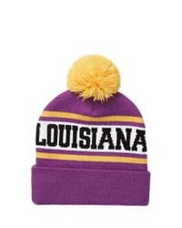 Forever 21 - Purple State Pom Beanie for Men - Lyst