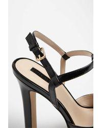 Forever 21 - Black T-strap Platform Heels - Lyst