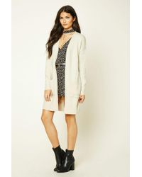 Forever 21 - Multicolor Contemporary Longline Cardigan - Lyst