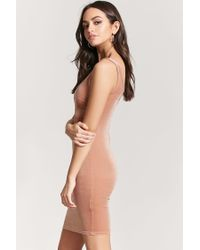 Forever 21 - Multicolor Velvet Tank Dress - Lyst