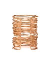 Forever 21 - Metallic Wire Cuff Bracelet - Lyst