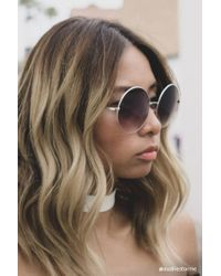 Forever 21 - Multicolor Oversized Round Sunglasses - Lyst