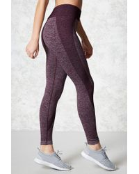 Forever 21 - Multicolor Active Marled Leggings - Lyst