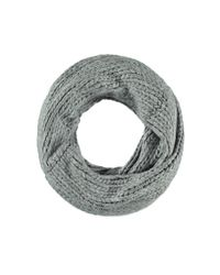 Forever 21 - Gray Chunky Knit Infinity Scarf - Lyst