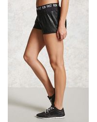 Forever 21 - Black Active Run Fast Mesh Shorts - Lyst