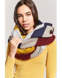 Forever 21 - Multicolor Colorblocked Oblong Scarf - Lyst