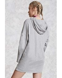 Forever 21 - Gray Heathered Sneaker Patch Top - Lyst