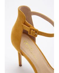 Forever 21 - Multicolor Faux Suede Stiletto Heels - Lyst