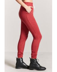 Forever 21 - Heathered Pocket Joggers - Lyst