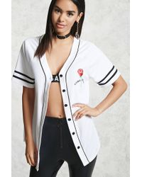 Forever 21 - White Lost Youth Baseball Jersey - Lyst