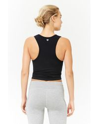 Forever 21 - Black Active Racerback Tank Top - Lyst