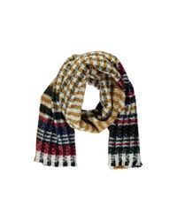 Forever 21 - Multicolor Variegated Striped Oblong Scarf - Lyst
