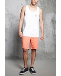Forever 21 - White Palm Graphic Tank Top for Men - Lyst
