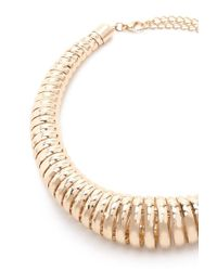 Forever 21 - Blue Spring Statement Necklace - Lyst