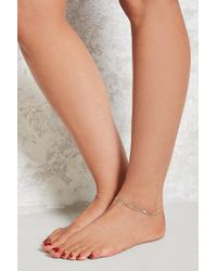 Forever 21 | Multicolor Layered Anklet Set | Lyst