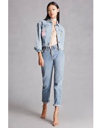 Forever 21 - Blue Compania Fantastica Jacket - Lyst