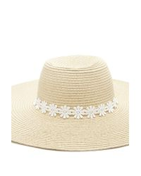 Forever 21 - Multicolor Floral Crochet Floppy Hat - Lyst
