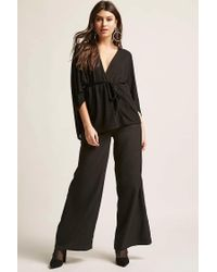 Forever 21 - Black Self-tie Cape Top - Lyst