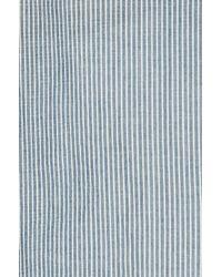 Nili Lotan - Blue Verona Top In Indigo Stripe - Lyst