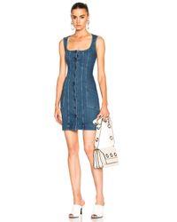 Stella McCartney | Blue Super Stretch Denim Dress | Lyst
