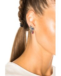 Ileana Makri - Metallic Crying Eye Single Earring - Lyst