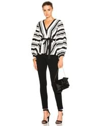 Alexis - Multicolor Sienna Striped V-neck Top - Lyst