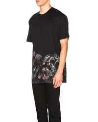 Givenchy - Black Printed Tee - Lyst
