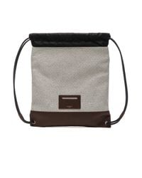 Givenchy - Brown Canvas New Rave Bag - Lyst
