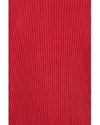 Homme Plissé Issey Miyake | Red Shirt | Lyst