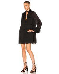 IRO - Black Mileyna Dress - Lyst