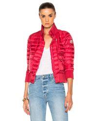 Moncler | Red Silene Jacket | Lyst