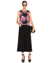 MSGM - Multicolor Floral Print Top - Lyst