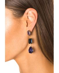 Jennifer Behr - Metallic Allanah Earrings - Lyst