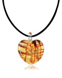 Antica Murrina | Red Passione - Murano Glass Heart Pendant | Lyst