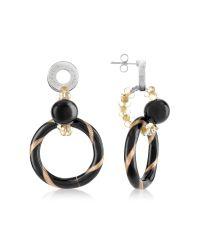 Antica Murrina | Metallic Bolero - Murano Glass Dangle Earrings | Lyst