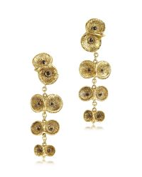 Bernard Delettrez | Metallic Bronze 4 Owls Earrings | Lyst