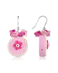Dolci Gioie | Pink Cake Earrings | Lyst