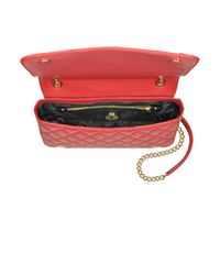 Love Moschino Women's Red Faux Leather Shoulder Bag
