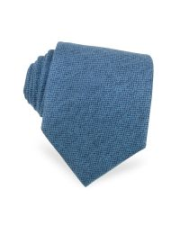 Forzieri   Solid Sky Blue Cashmere Extra-long Tie for Men   Lyst